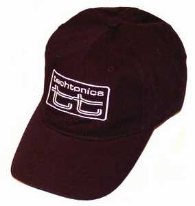 TT Embroidered Hat S/M size (Black w/White Logo)