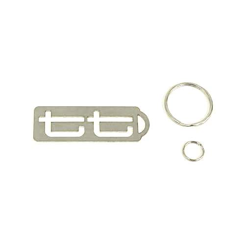 Techtonics Stainless Key Fob