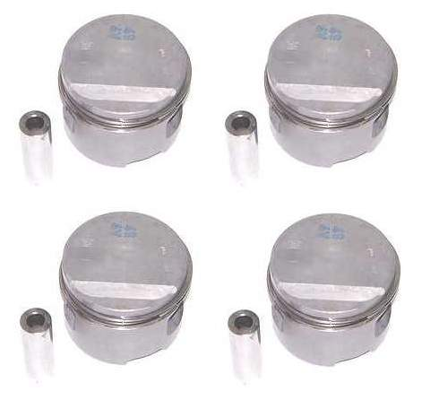 Piston Set 16v 1.8L 10-1 German (81.5mm +.5mm)