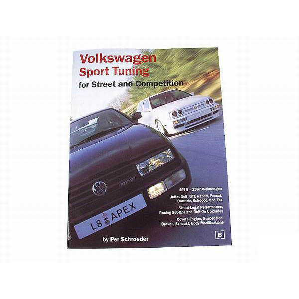 VW Sport Tuning Engine & Suspension Enthusiast Book