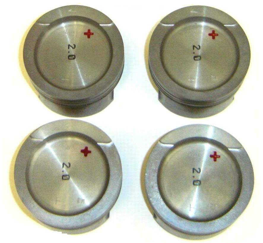 OEM Std Bore (82.5mm) ABA Pistons w/Grant rings