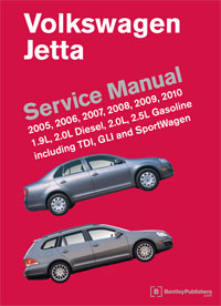 Bentley Manual Mk5 Jetta 2005-2010